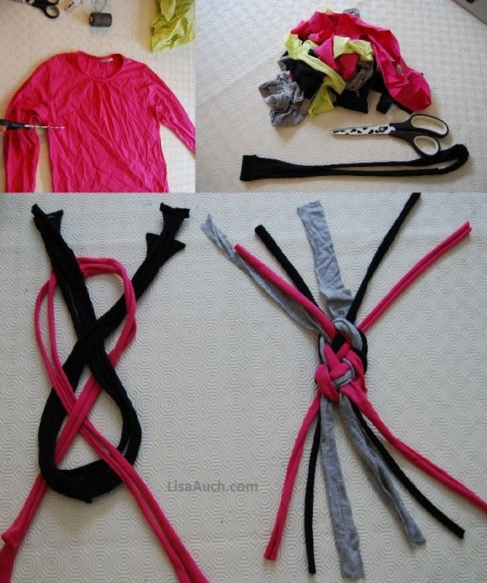 Diy Make Your Own Fabulous Headbands Using Old T Shirts