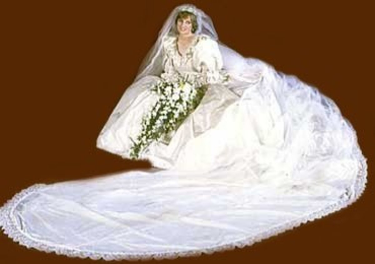 The Late Princess Diana Wedding Circa 1981