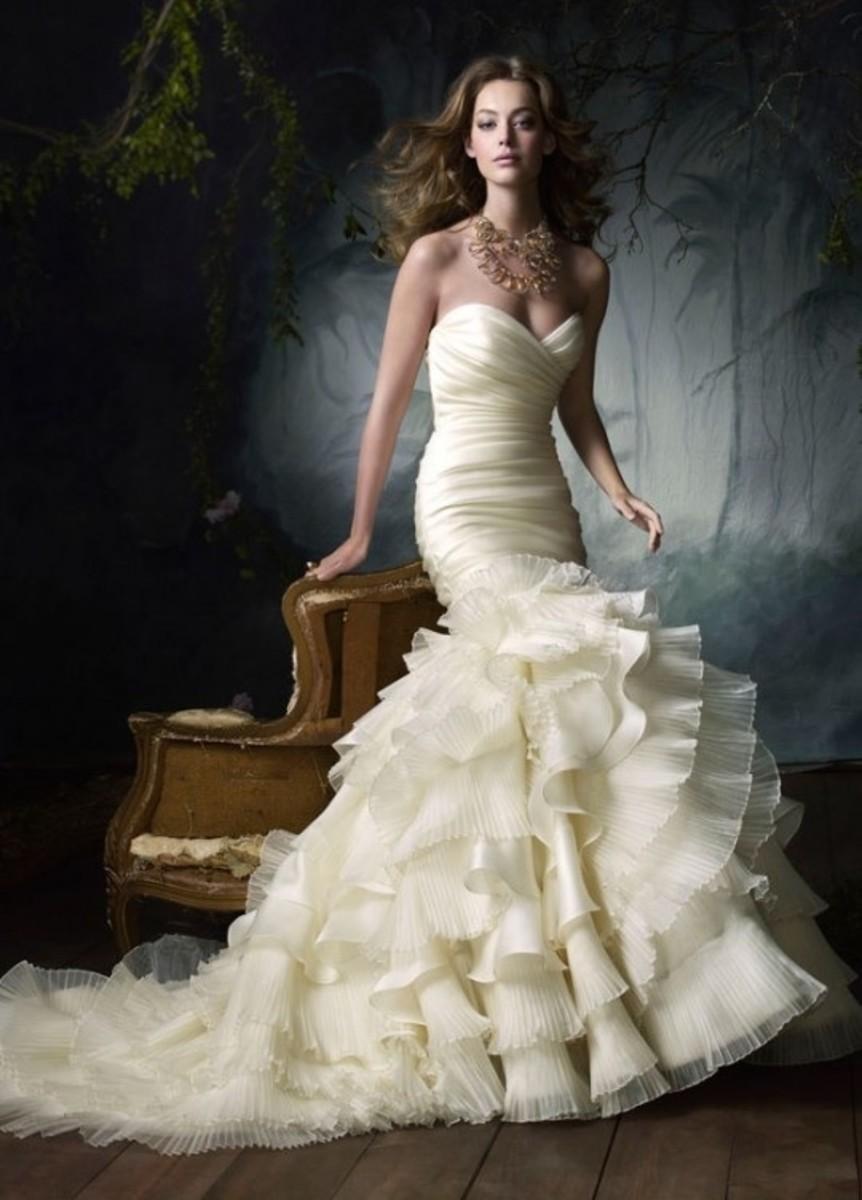 Modern Bridal Gown