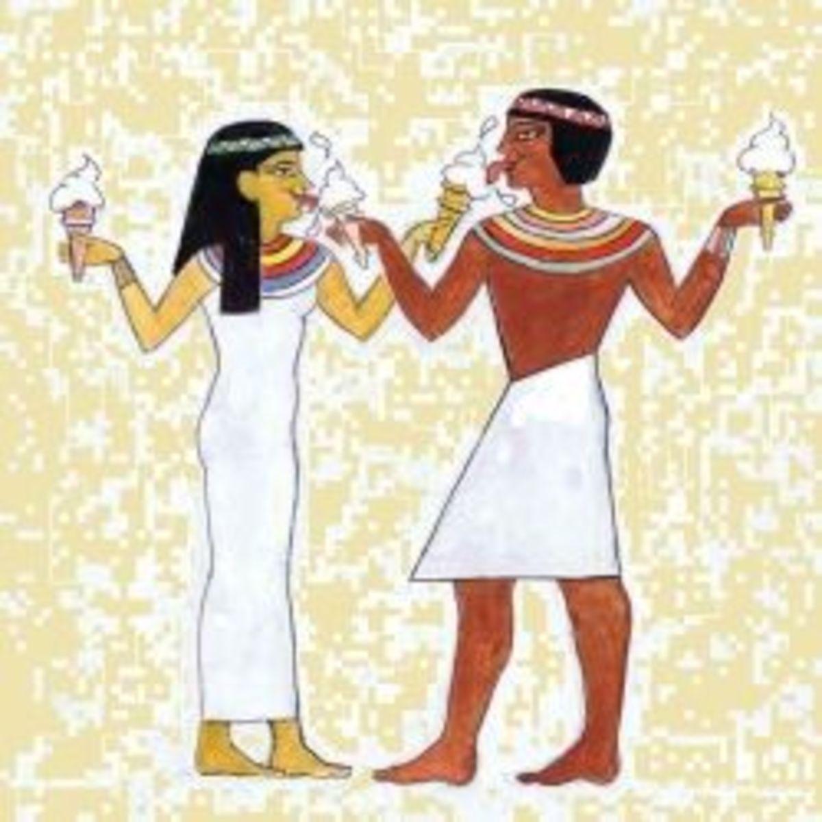 Ancient Egyptian Ice Cream