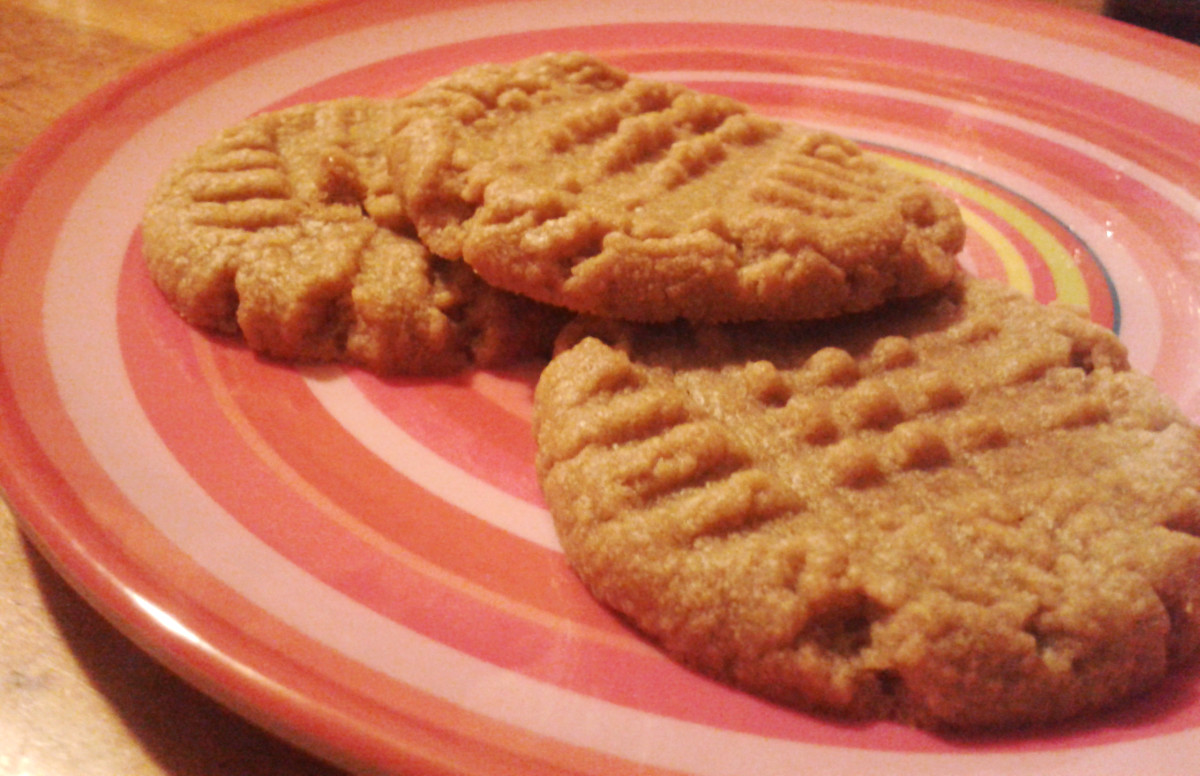 3-Ingredient Gluten-Free Peanut Butter Cookies