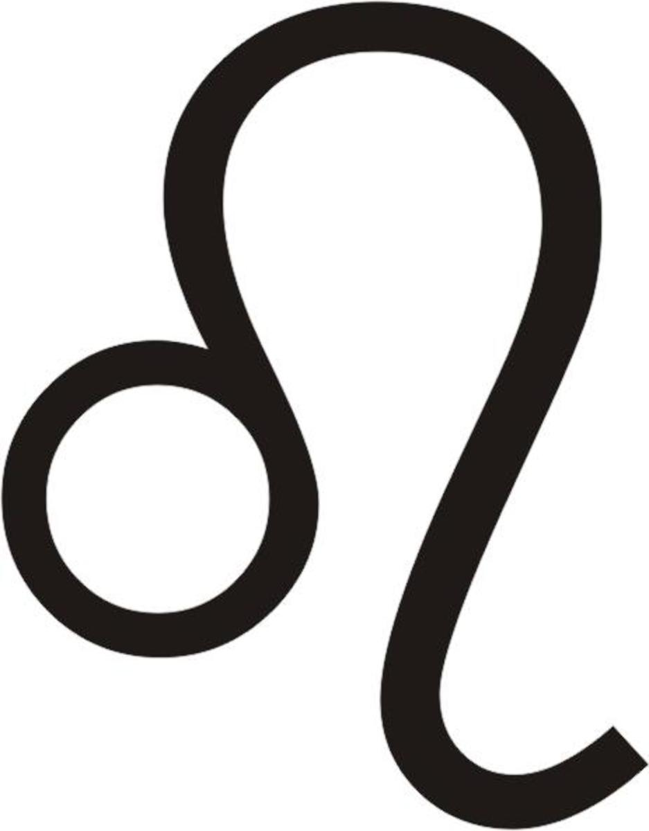 This is a common symbol used in drawing birth charts to indicate the constellation, or the house of Leo.