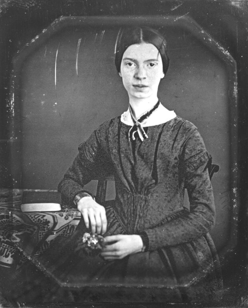 Photograph of Emily Dickinson c. 1848