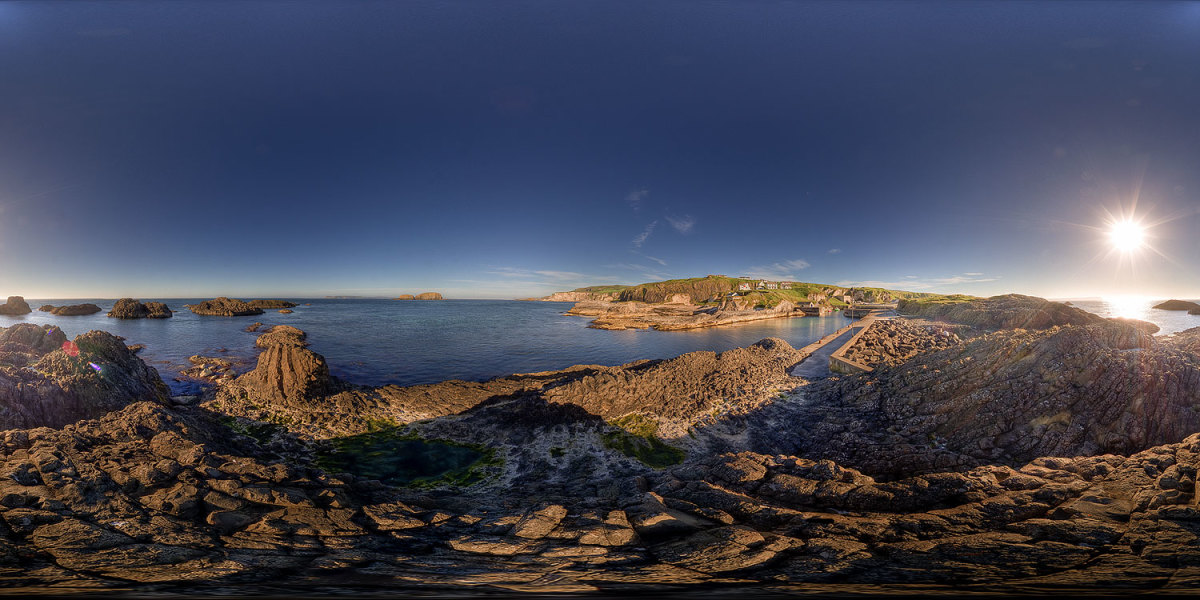 Ballintoy Harbour, N. Antrim coast