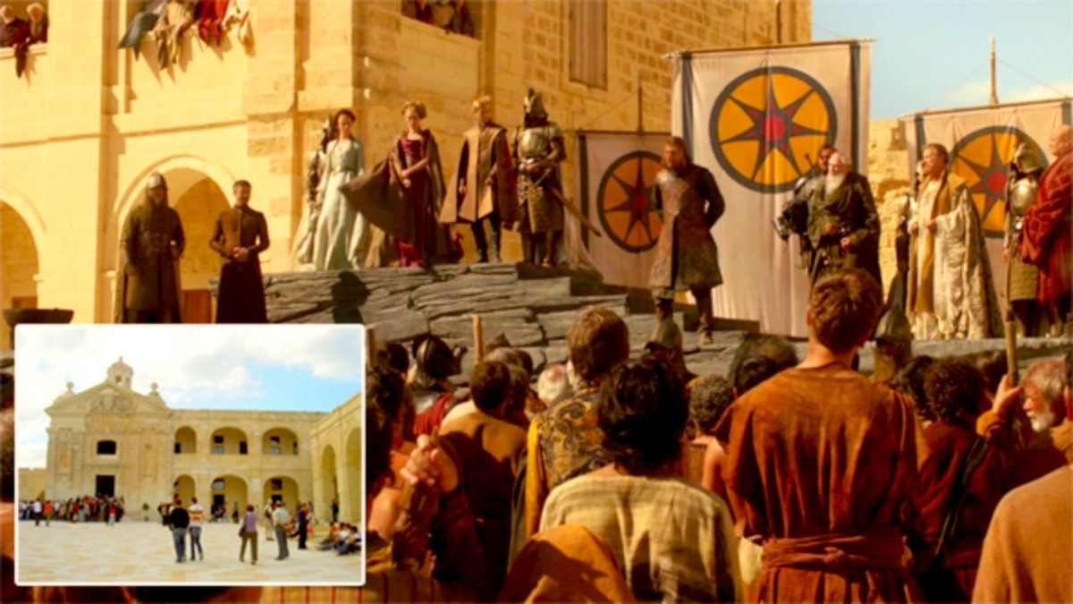 Fort Manoel, as King's Landing