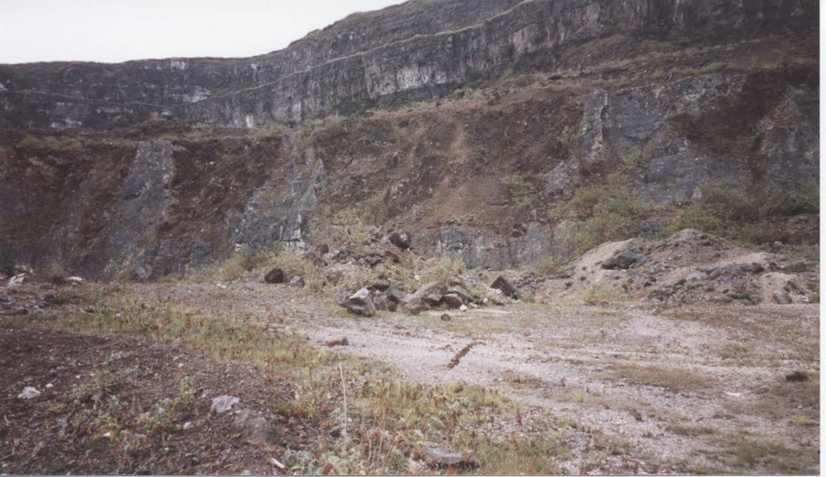 Magheramorne Quarry, Co. antrim, N.Ireland