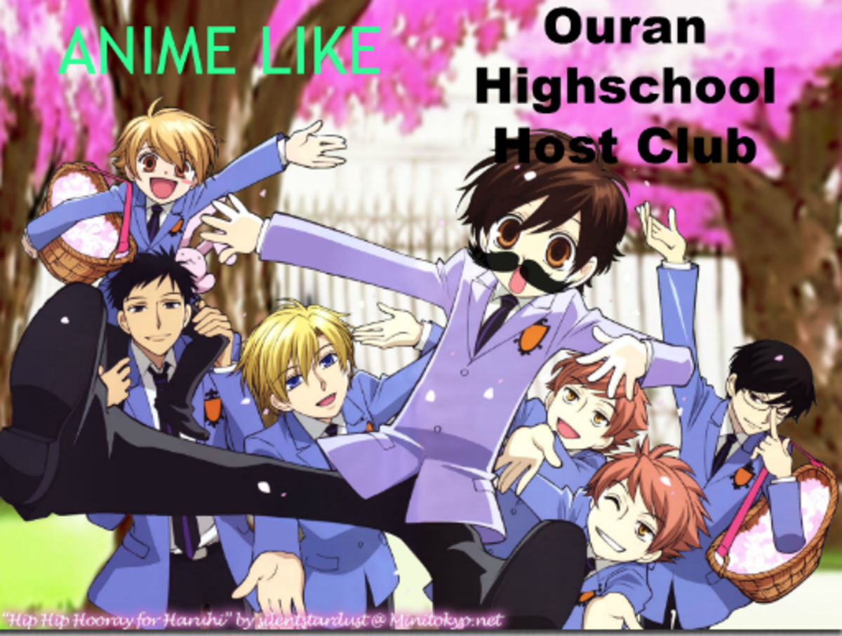 Ouran Highschool Host Clube