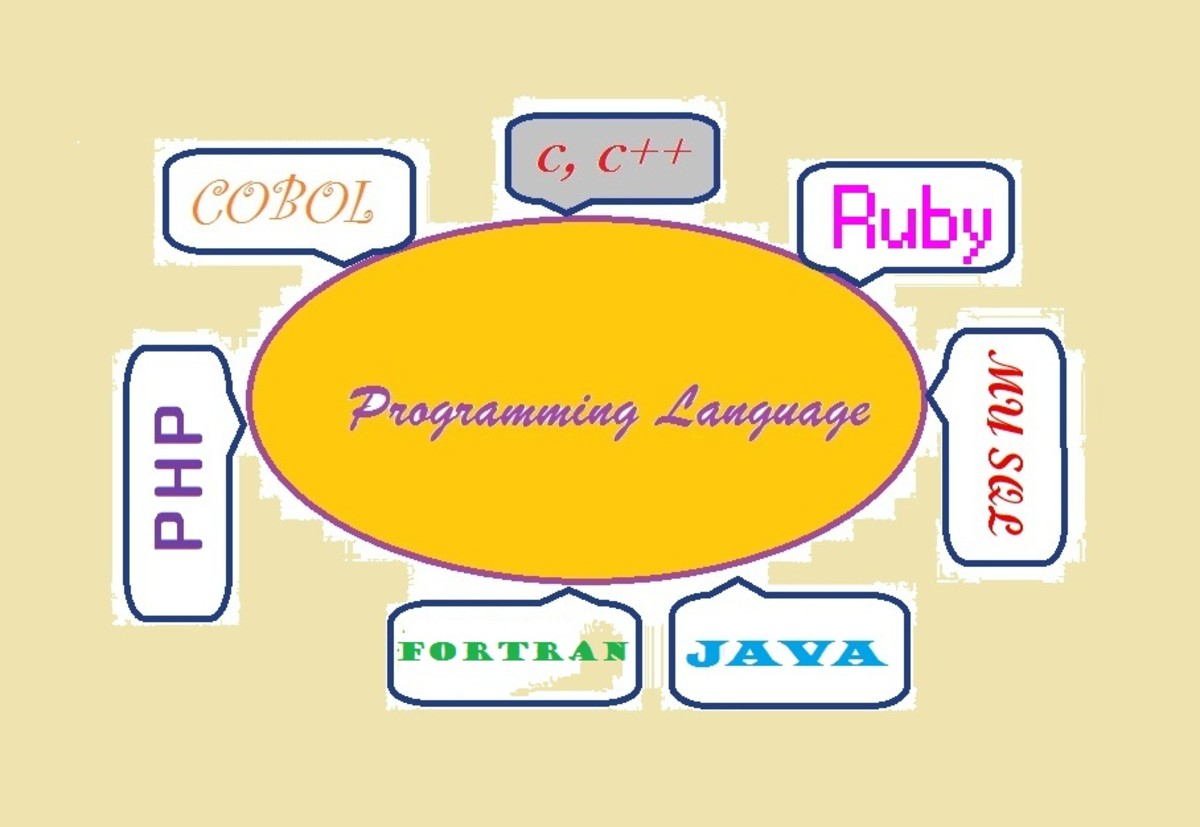 Computer programming Language.