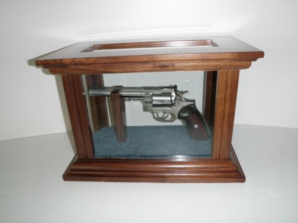 Amish crafted gun cased