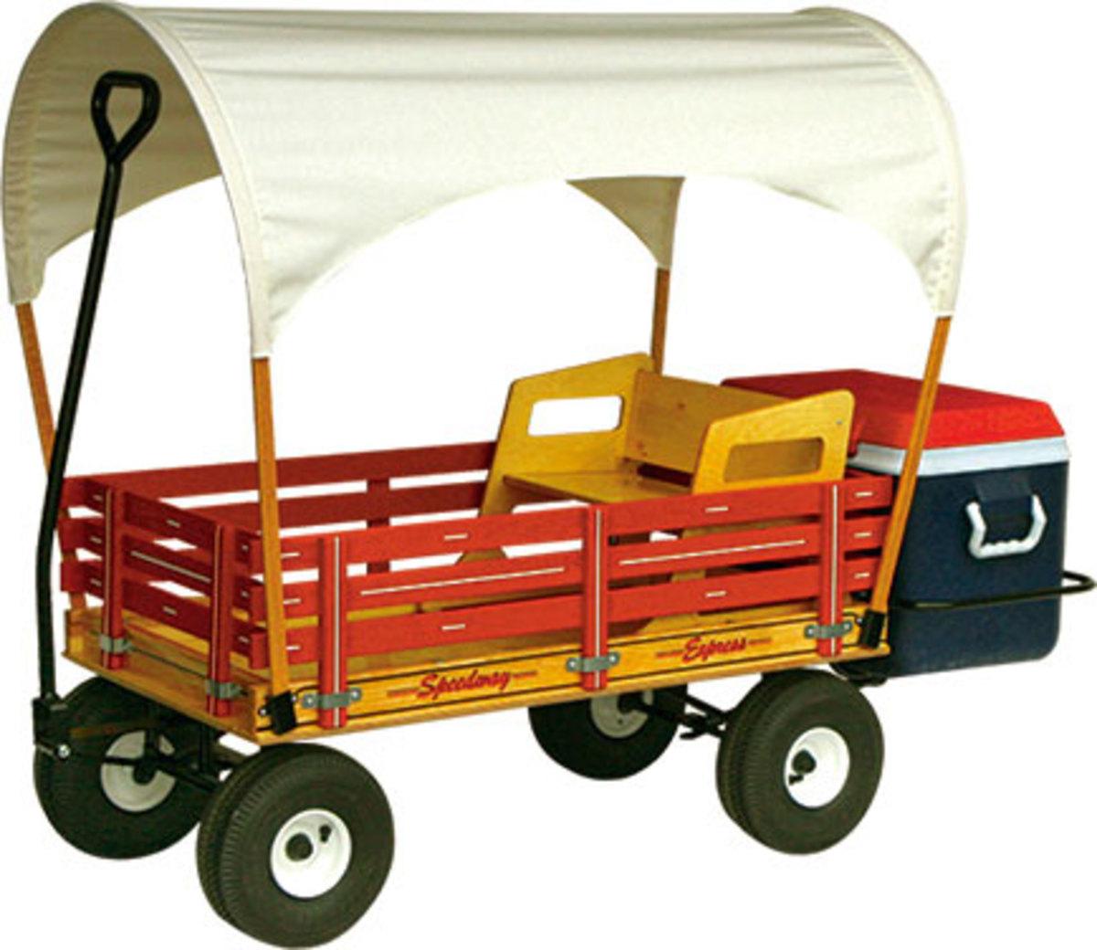 Kids coaster style wagons