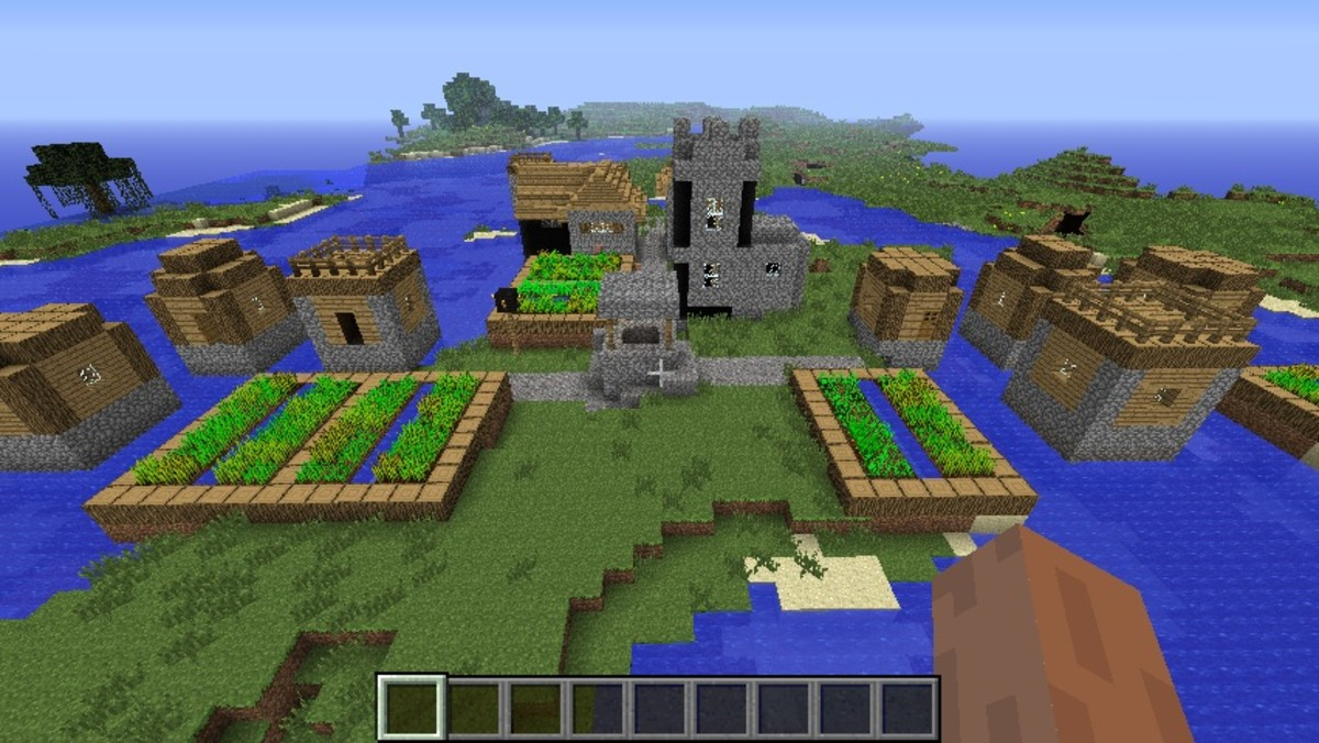 Minecraft NPC village seed list 1.6.4 (videos)