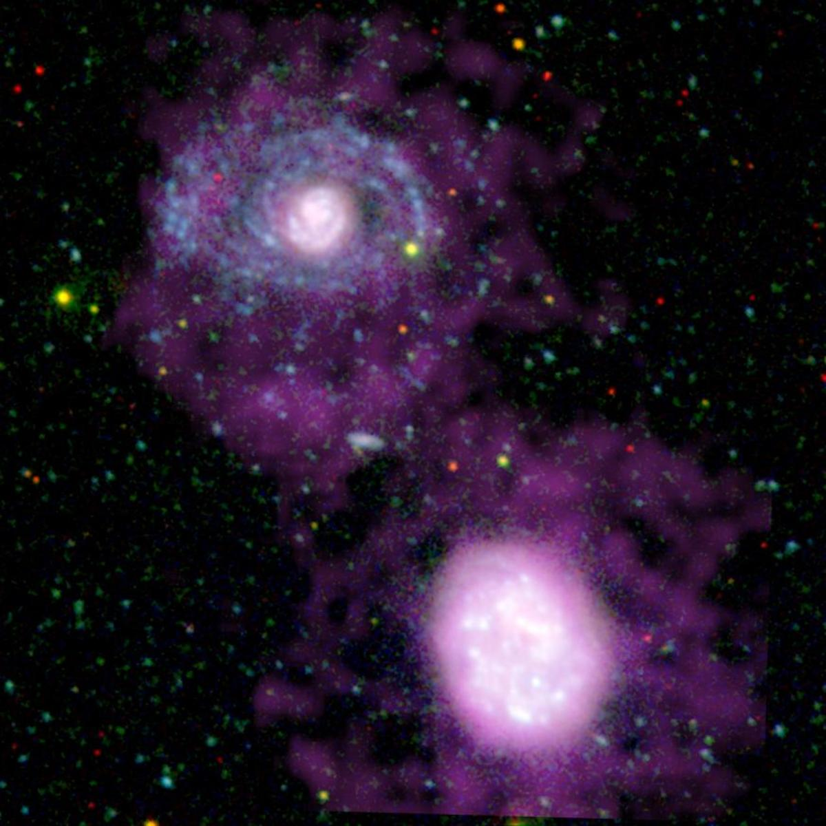Companion Galaxies. Source: NASA/JPL-Caltech.