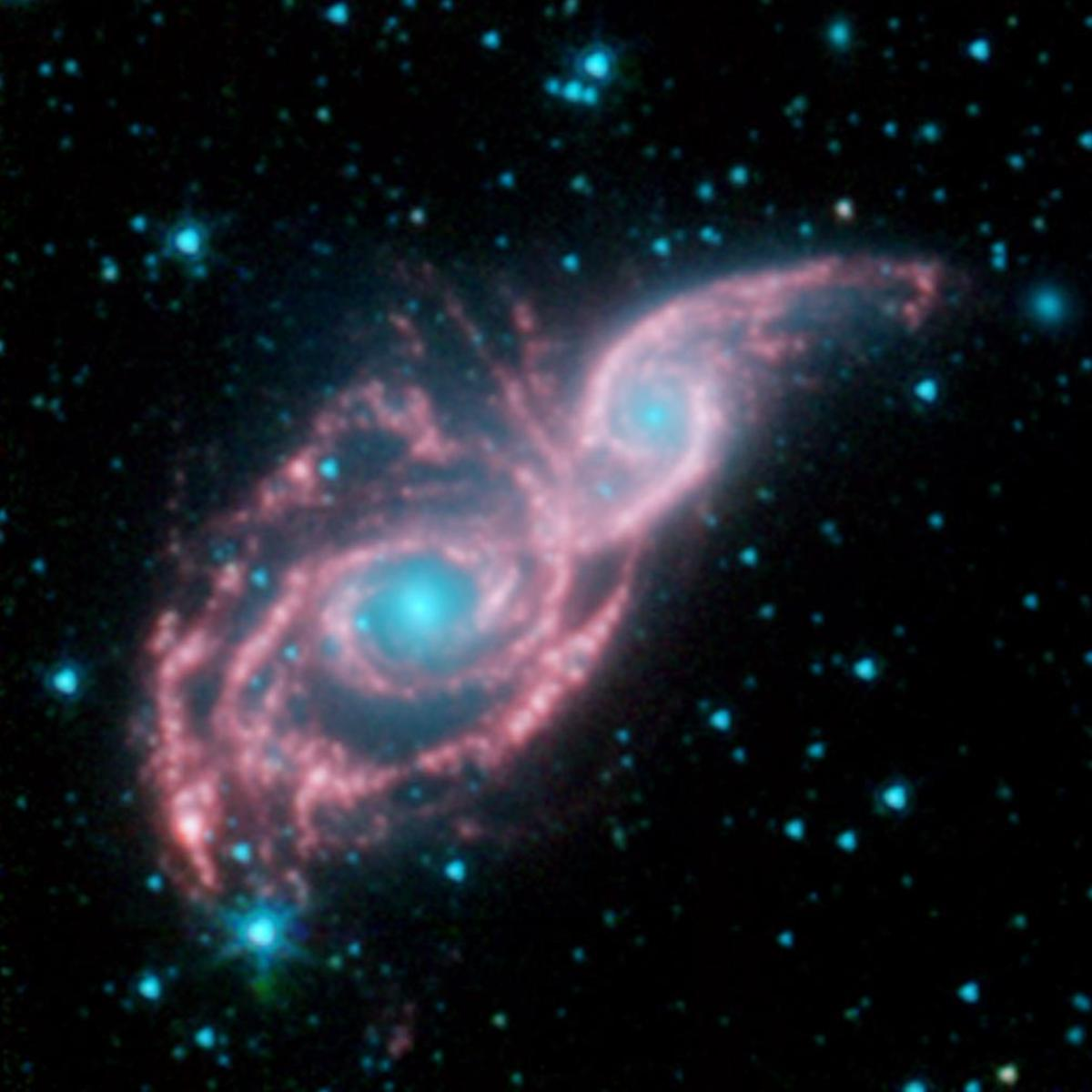 Merging Galaxies. Source: NASA/JPL-Caltech.