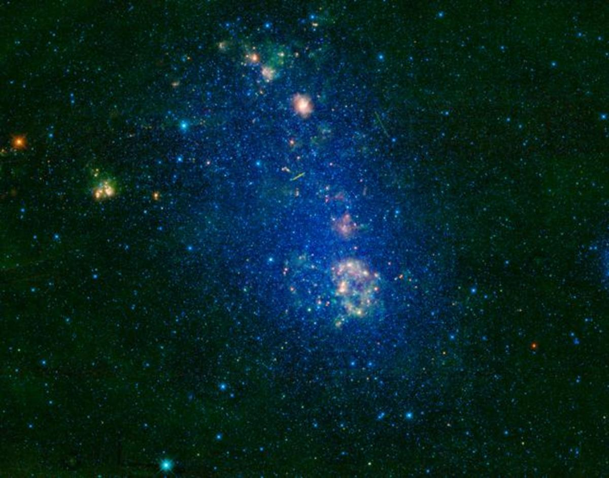 Irregular Galaxy NGC 292. Source: NASA/JPL-Caltech