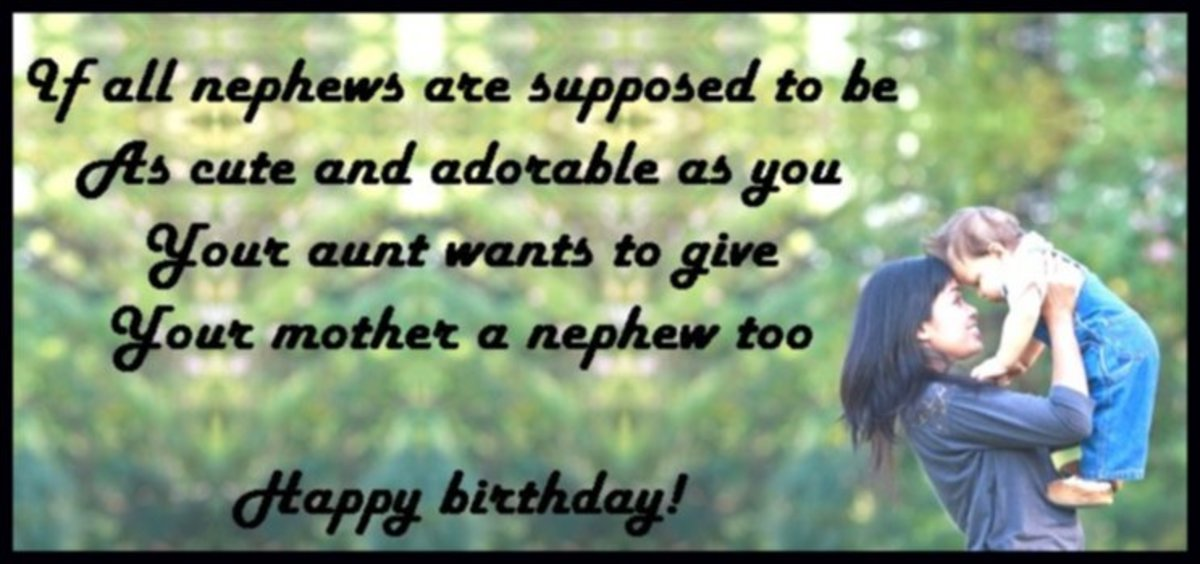 Happy birthday wishes for a nephew: Messages, quotes and poems from an aunt or uncle