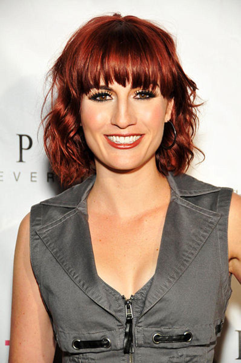 Dark Red Hair Colors for Warm Skin Tones