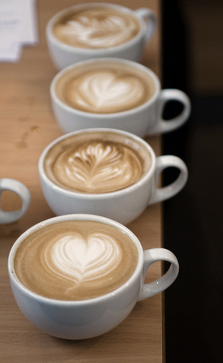Coffee in large amounts can cause tingling in the fingertips.