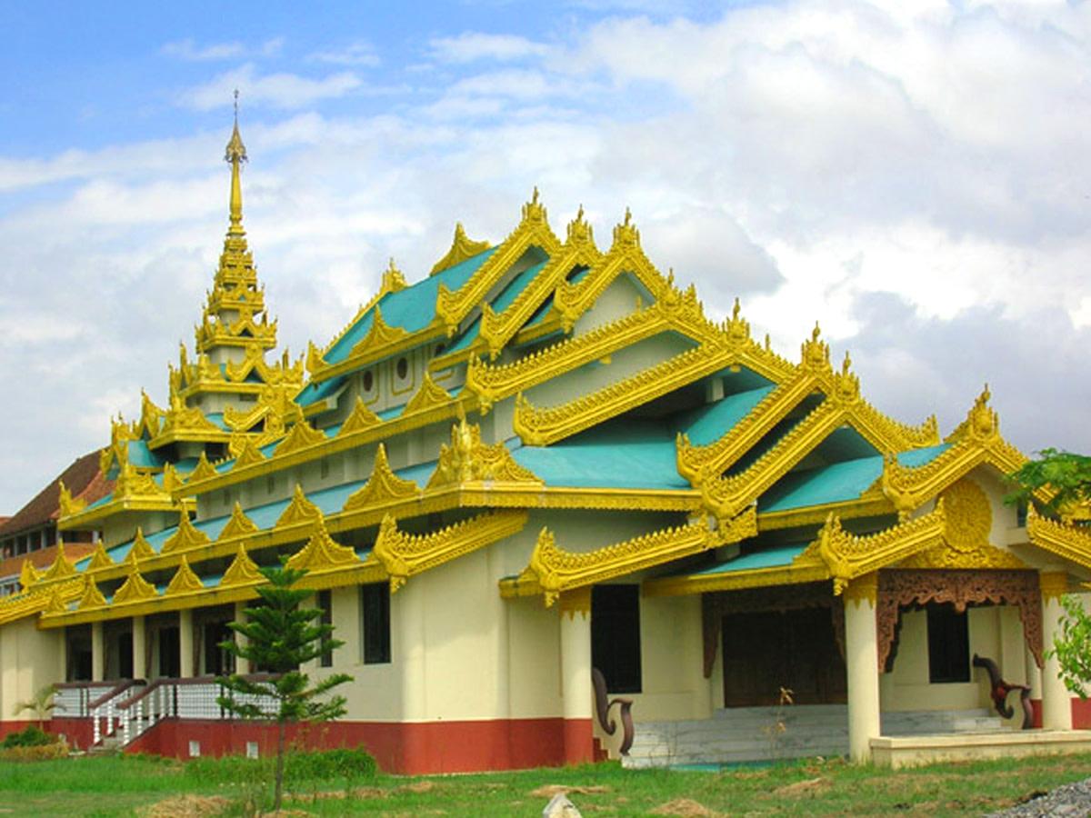Buddhist Monastery in Lumbini,Nepal