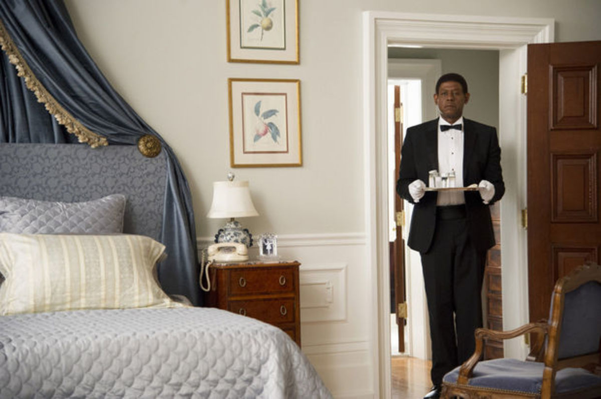 Forrest Whittaker as 'The Butler'