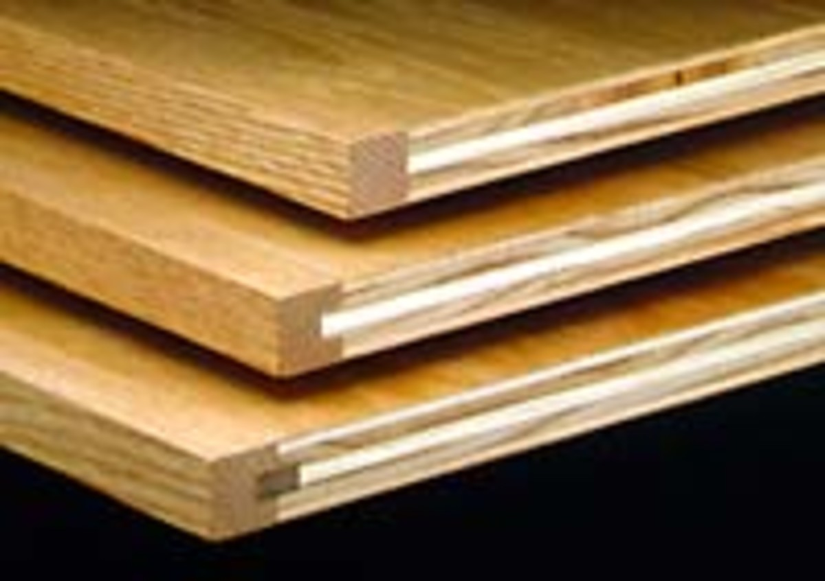 Fig 1.  Molding over plywood examples