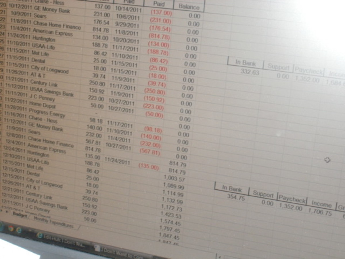 "Spreadsheets, debits and credits. Try doing this day in and day out on a 13"" monitor with an antiquated OS."