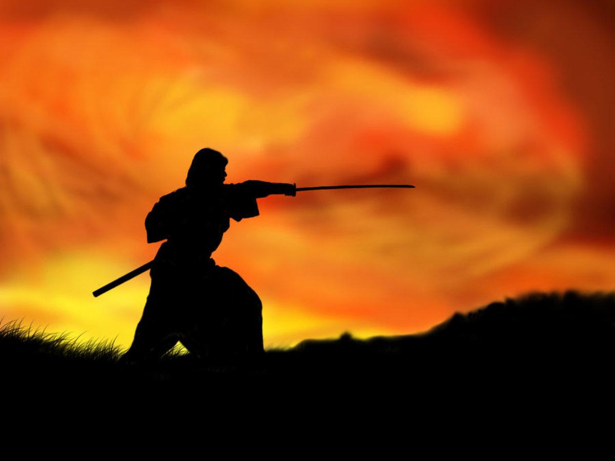 Aikido: The art of Kenjutsu, the Japanese swordsmanship.