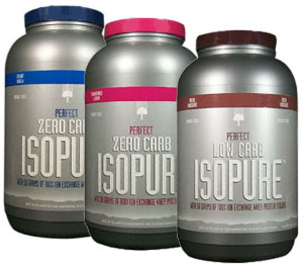 Isopure, Zero-Carb & Low-Carb Protein Powders.