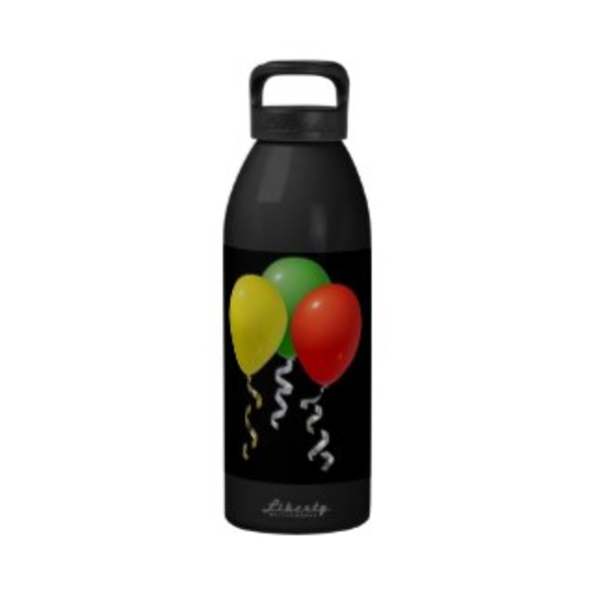 Party Balloons Reusable Water Bottle