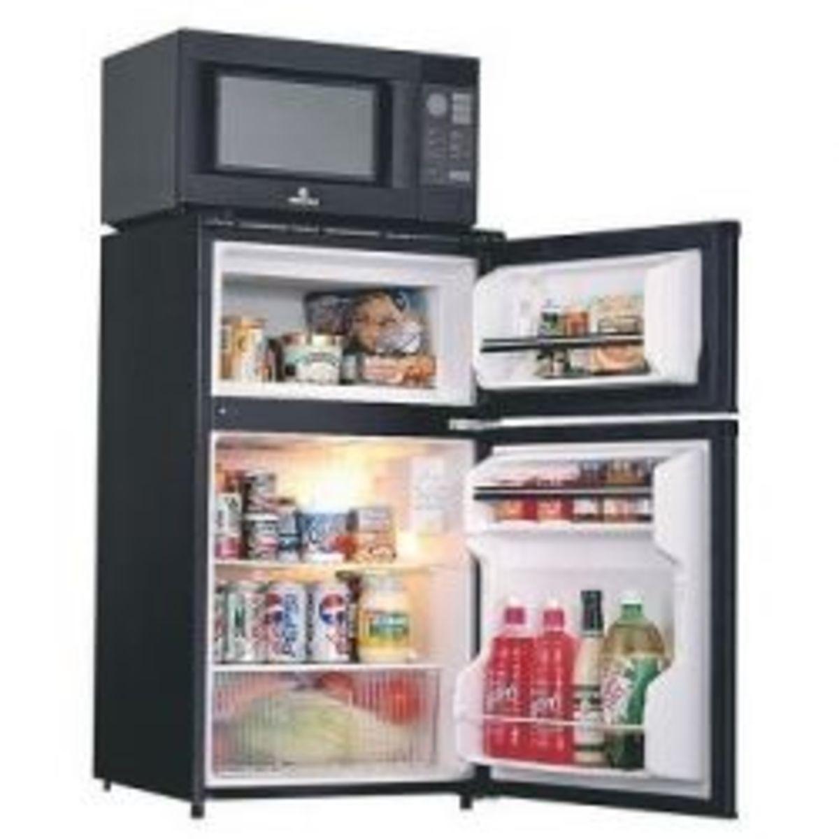 3-in-1 small dorm appliance