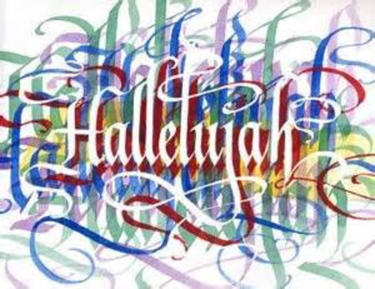 (Psalm 150) Hallelujah Means,