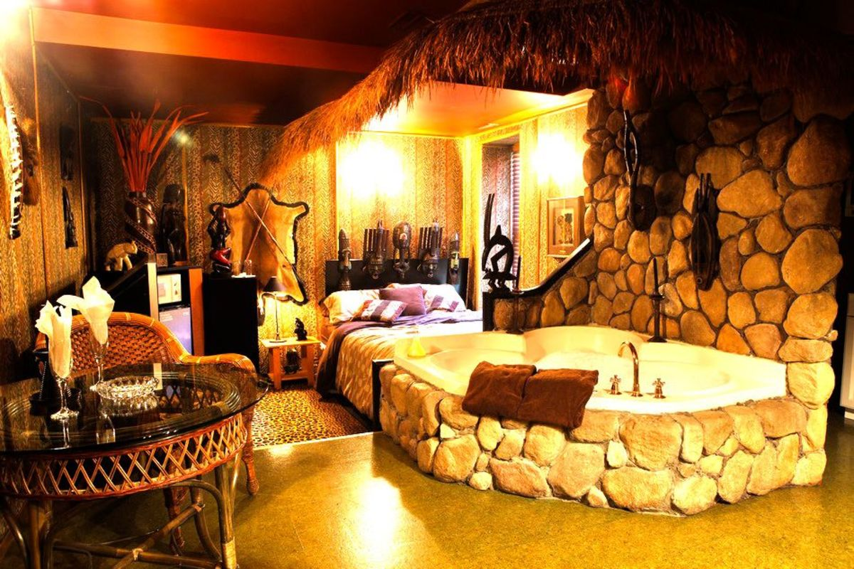 Africa Theme Room