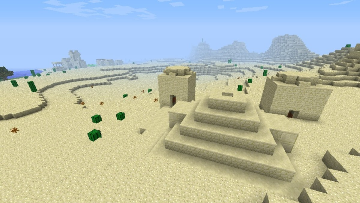 Minecraft desert seed list 1.5.2 (videos)