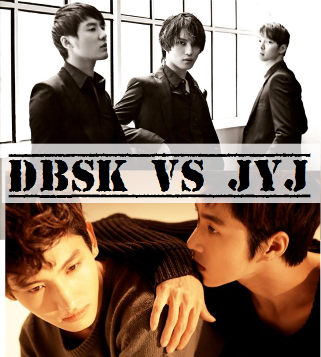 DBSK/TVXQ broke up in 2009. The three members who left are now known as JYJ. The two bands are undeniably successful.