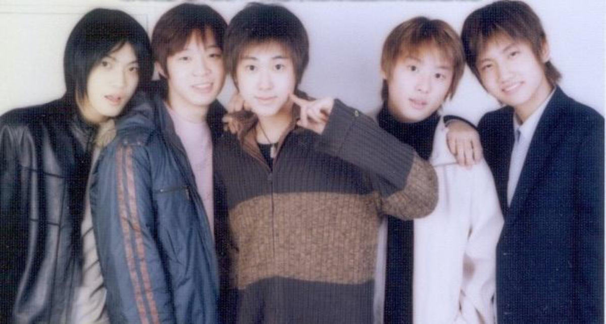 DBSK before their debut... who would have thought?