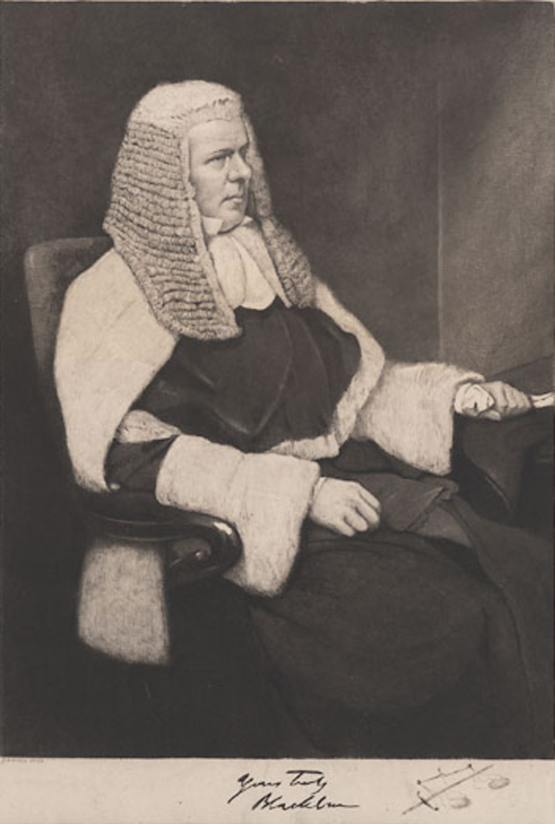A famous 19th century Scottish judge who sat in the English courts.