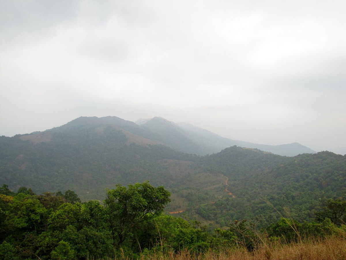 View From Ranipuram Hill, Kerala
