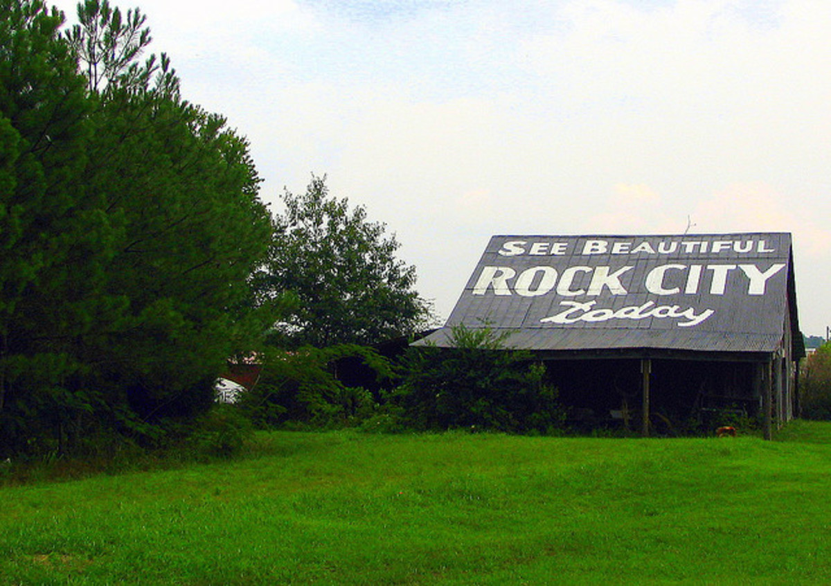 A Familiar Scene Along Southern Highways