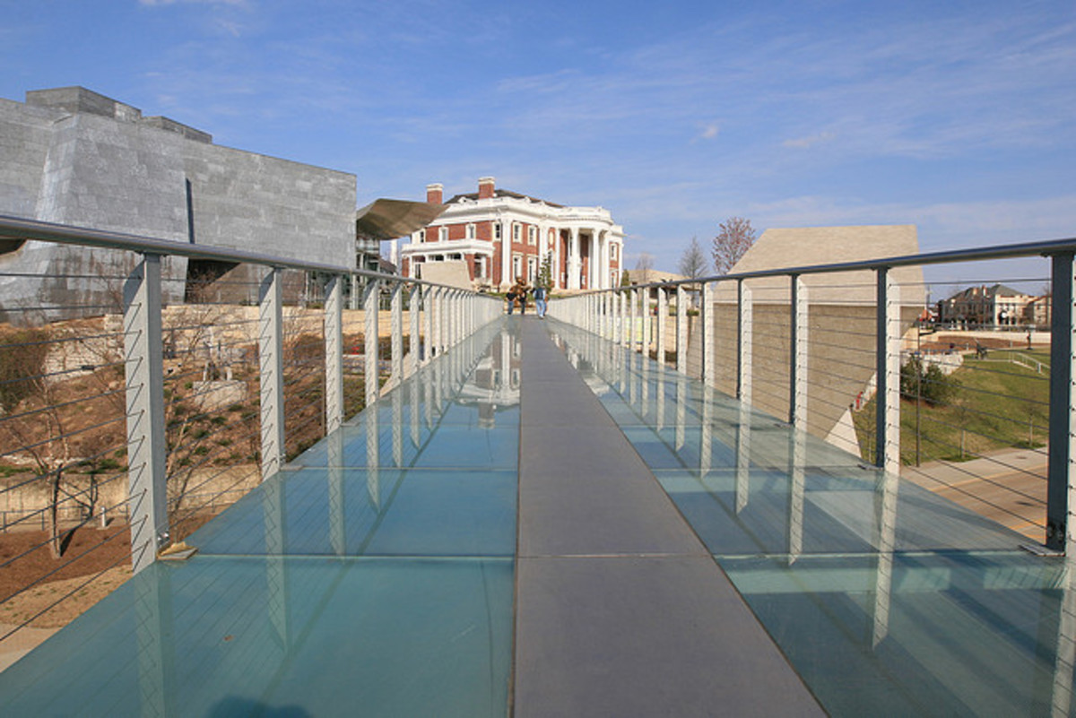 The Glass Bridge to Somewhere Very Special