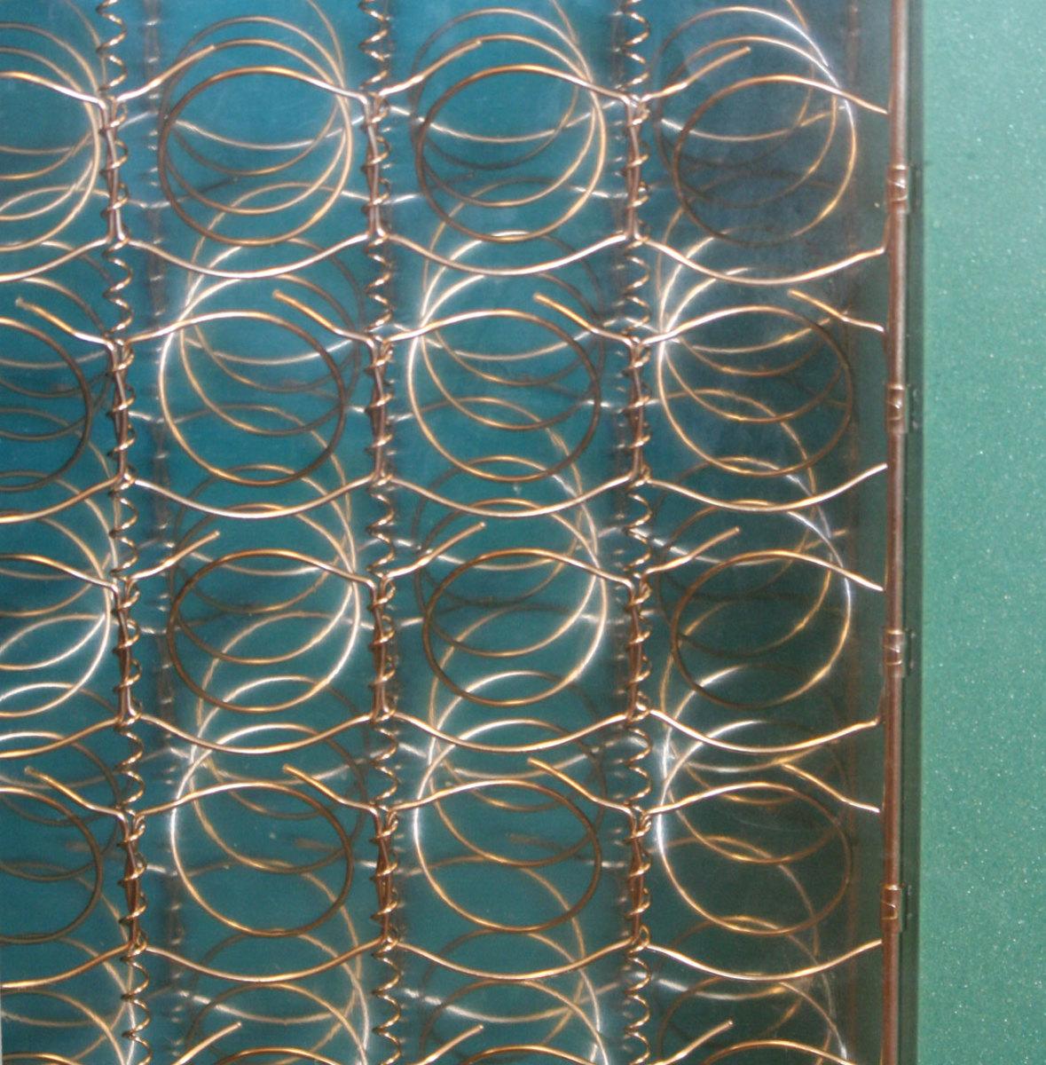 Alternating Offset Innerspring Coil System