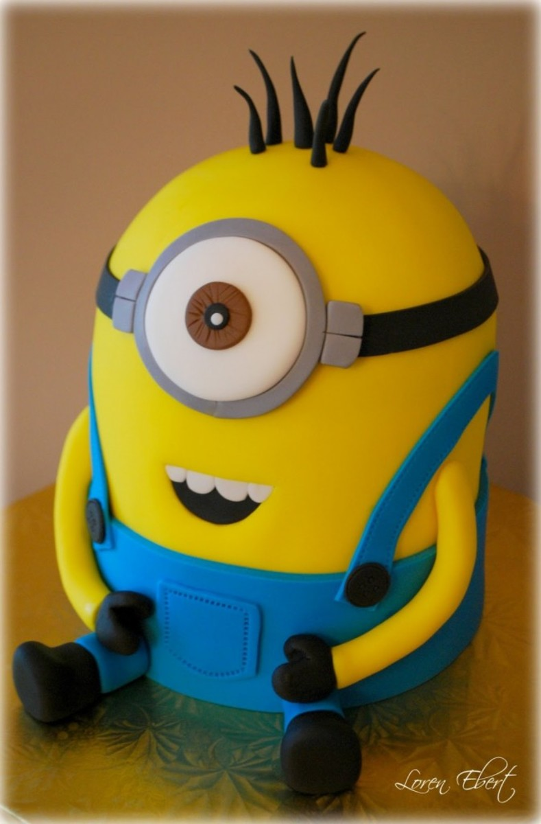 How to make a minion cake despicable me is a great film for Minion template for cake