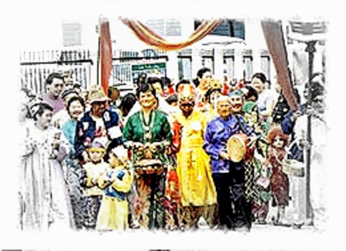 A Bengsawan troupe
