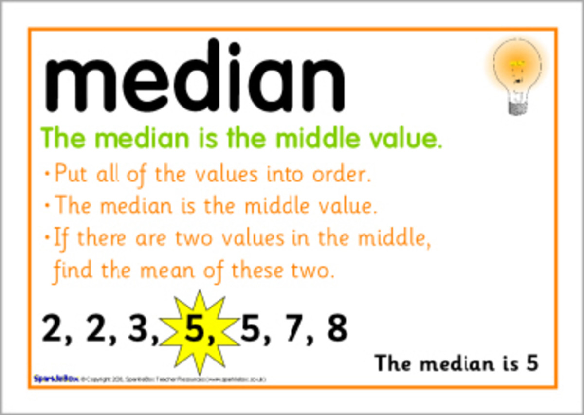 how to work the median