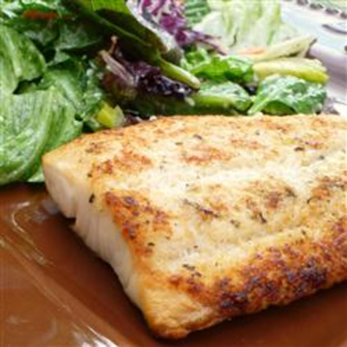 Ingredients for Broiled Tilapia Parmesan