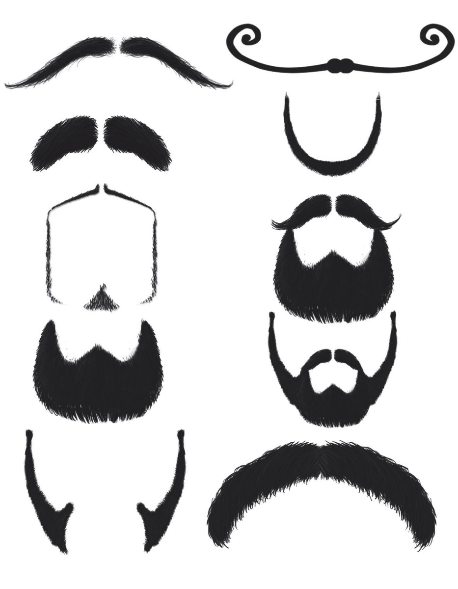 Different types of mustaches