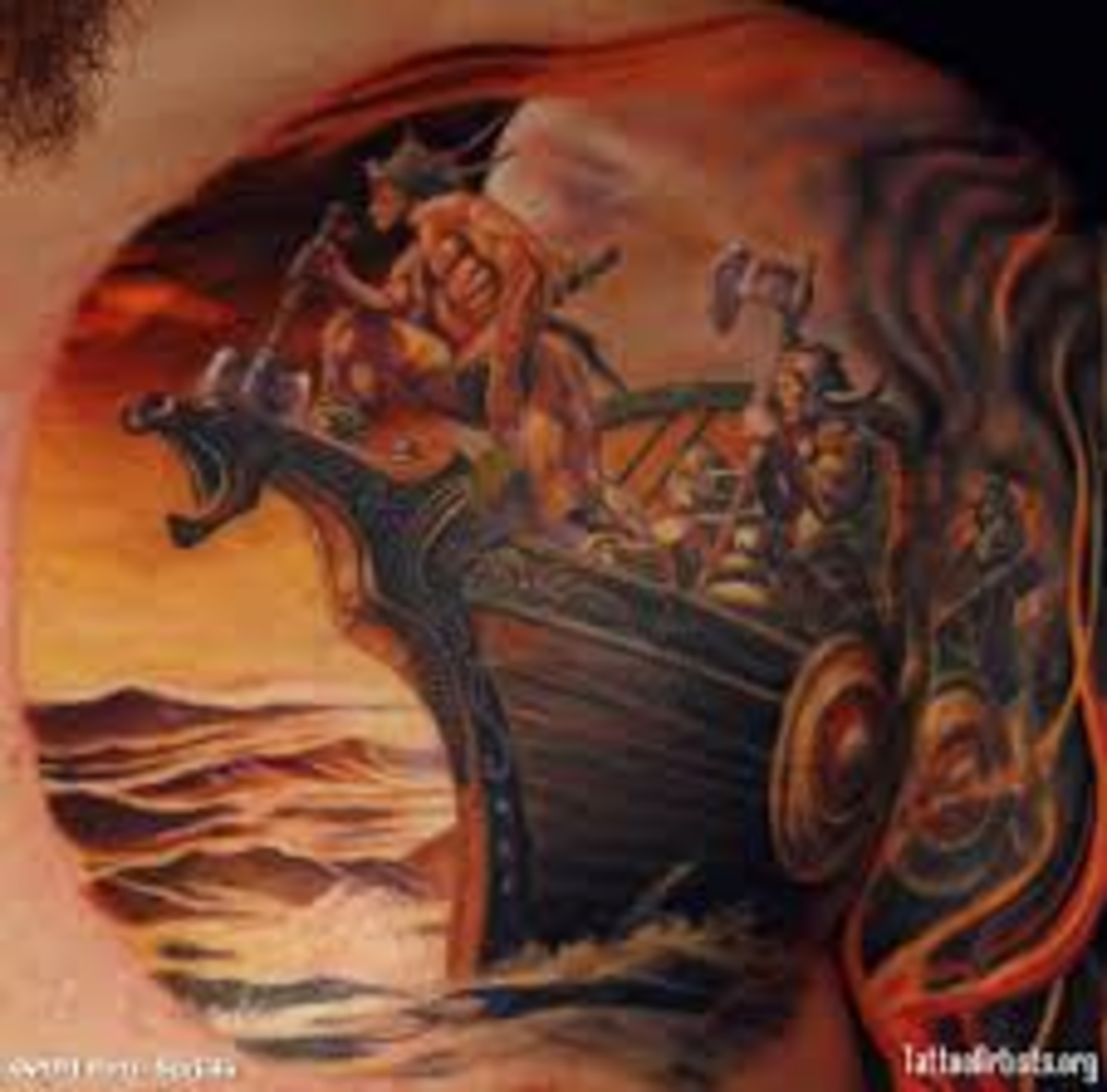 viking tattoo designs and ideas viking tattoo meanings and pictures hubpages. Black Bedroom Furniture Sets. Home Design Ideas