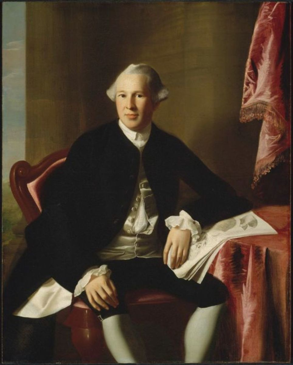 Portrait of Joseph Warren by John Singleton Copley
