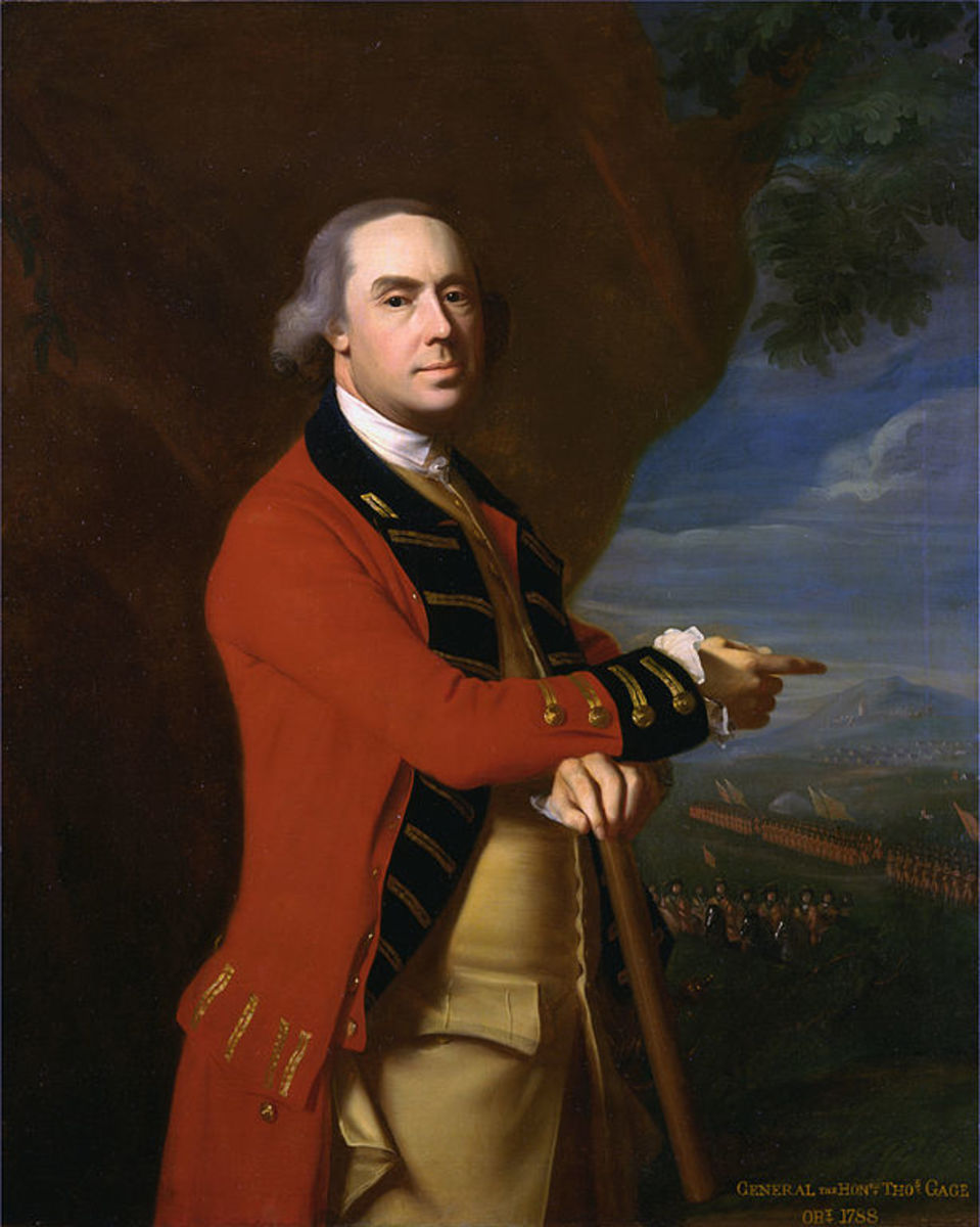 Thomas Gage, Portrait by John Singleton Copley, circa 1768