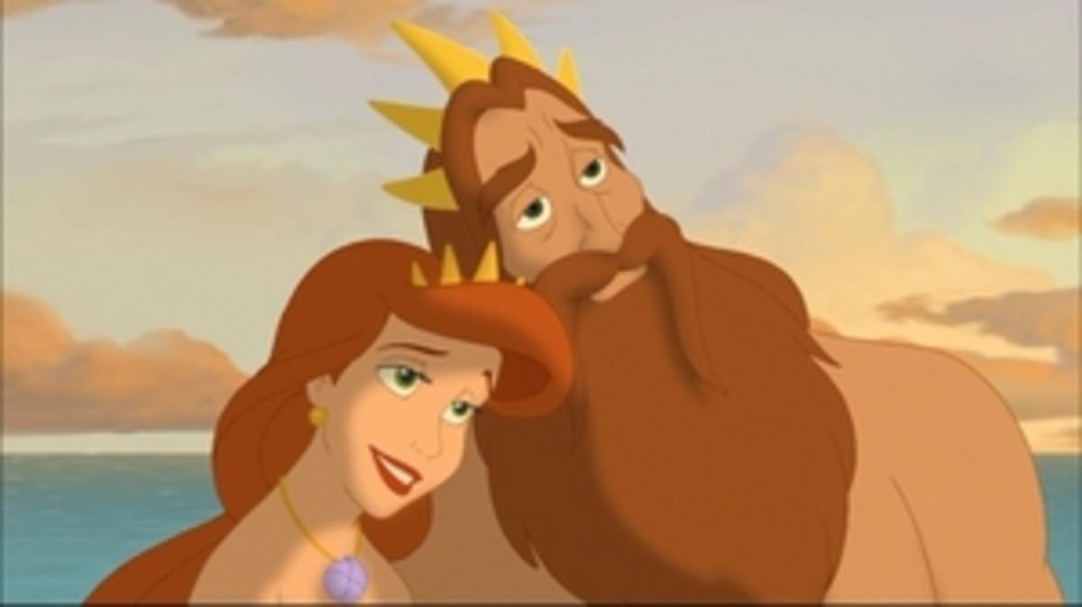 Queen Athena and King Triton
