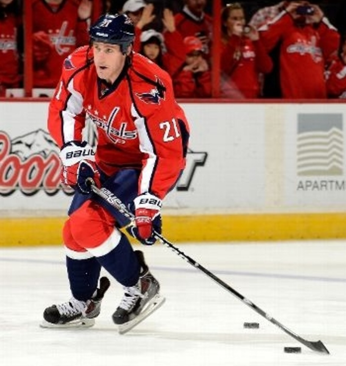 """Consider """"Laich and Load""""! Above: Brooks Laich, C, Washington Capitals."""