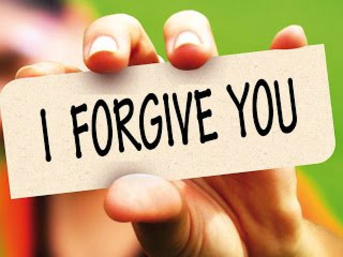 Forgiveness costs us nothing, and repays with peace.